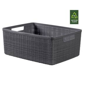 Jute Medium Basket - 12L - Deep Shadow