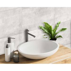 Innovera Decor Decorative Shower & Bathroom Wall Tiles (Rustic Concrete, set of 8)