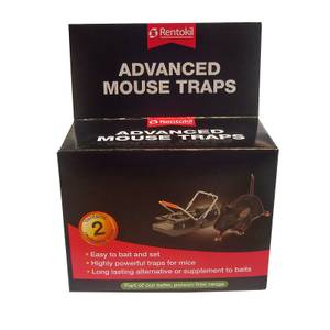 Rentokil Advanced Mouse Traps (Pack of 2)