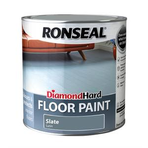 Ronseal Diamond Hard Slate - Floor Paint - 2.5L