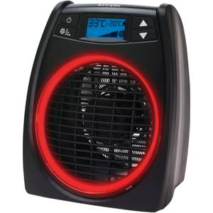 Dimplex 2kW GloFan Heater with Cool Air Setting - Black