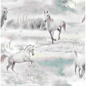 Fresco Unicorn Dreamland Wallpaper