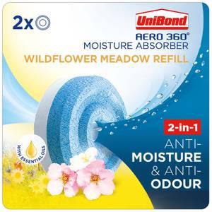 UniBond Aero 360 Wildflower Meadow Refills x2