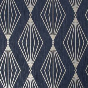 Boutique Marquise Geo Sapphire Wallpaper