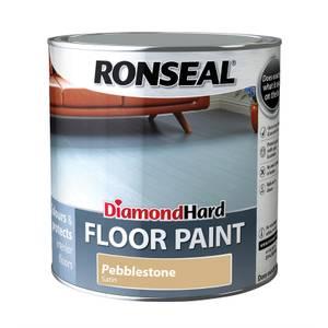 Ronseal Diamond Hard Pebblestone - Floor Paint - 2.5L