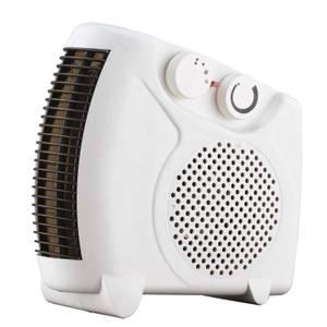 Flat Fan Heater White 2000W