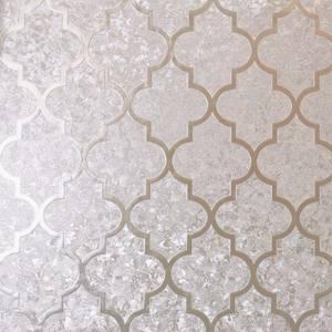 Arthouse Velvet Trellis Rose Gold Wallpaper
