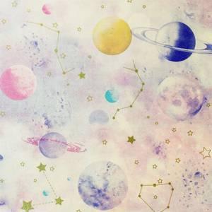 Arthouse Stargazer Pink Multi Wallpaper