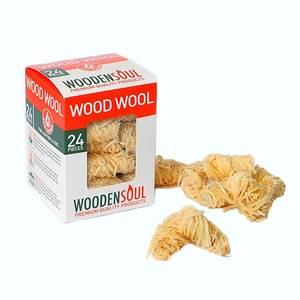 Woodensoul Wood Wool Firelighter Fuel