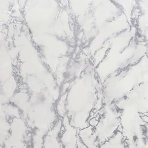 Arthouse Carrara Marble Silver Wallpaper