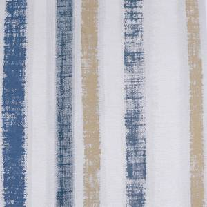 Arthouse Painted Stripe Navy Gold Wallpaper