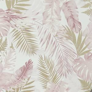 Arthouse Soft Tropical Blushgold Wallpaper