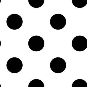 Superfresco Easy Dotty Black Wallpaper