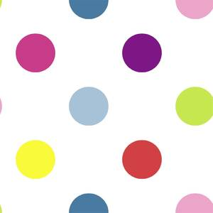 Superfresco Easy Dotty Multi Bright Wallpaper