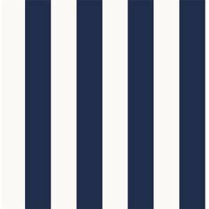 Superfresco Easy Navy Stripe Wallpaper