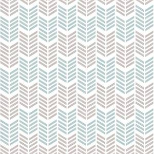 Superfresco Easy Paste the Wall Oiti Wallpaper - Taupe & Blue