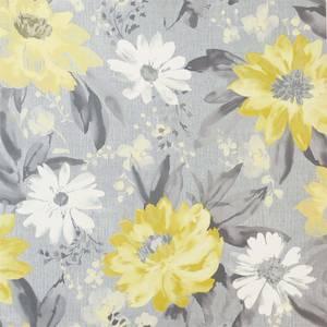 Arthouse Painted Dahlia Floral Ochre Wallpaper