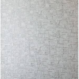 Arthouse Basalt Texture Silver Wallpaper