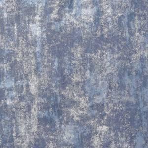 Arthouse Stone Textures Navy Silver Wallpaper