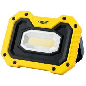 Draper Rechargeable COB Worklight with Wireless Speaker