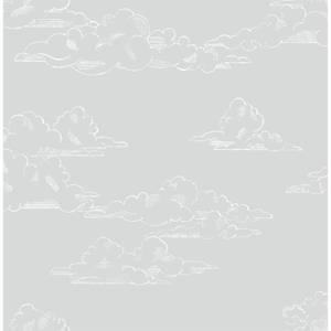 Superfresco Easy Vintage Cloud Grey Wallpaper