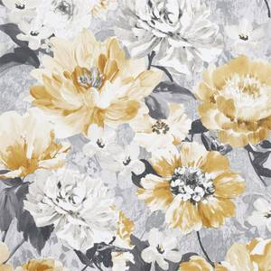 Arthouse Aubrey Floral Ochre Wallpaper