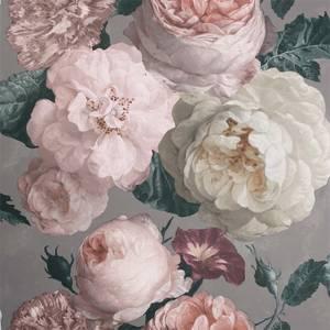 Arthouse Highgrove Floral Warm Grey Wallpaper