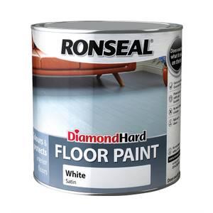Ronseal Diamond Hard White - Floor Paint - 2.5L