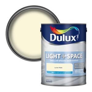Dulux Light & Space Lunar Falls - Matt Emulsion Paint - 5L