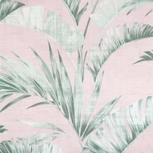 Arthouse Banana Leaf Pink Green Wallpaper