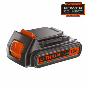 BLACK+DECKER 18V 1.5Ah Battery (BL1518-XJ)