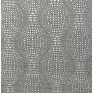Arthouse Calico Dot Gunmetal Wallpaper