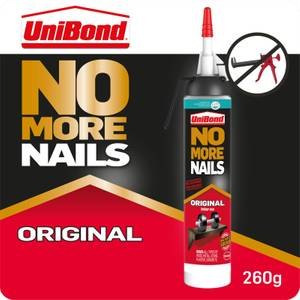 UniBond No More Nails Interior Kiwi - White - 200ml