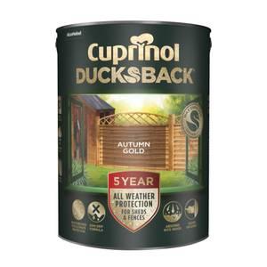 Cuprinol 5 Year Ducksback - Autumn Gold - 5L