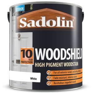 Sadolin Woodshield - White - 2.5L