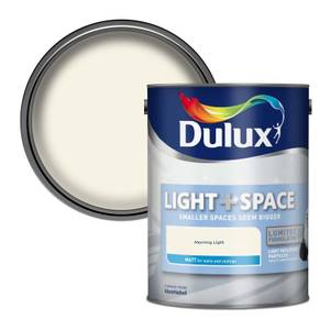 Dulux Light & Space Morning Light - Matt Emulsion Paint - 5L