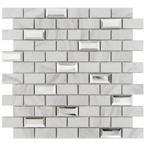 HoM Calacatta Luxe Mosaic Tile Sheet