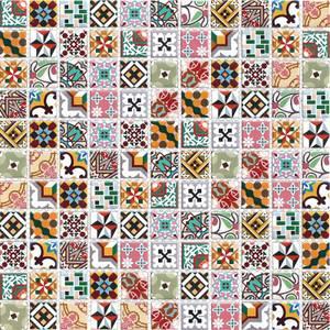HoM Geo Blush Mosaic Tile Sheet