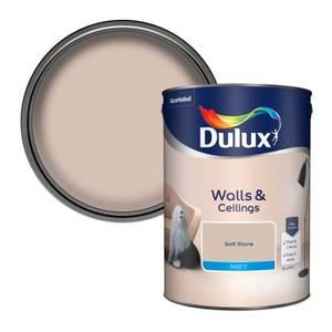 Dulux Soft Stone - Matt Emulsion Paint - 5L