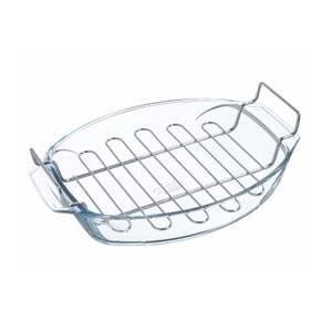 Pyrex Irresistible Oval Roaster & Rack