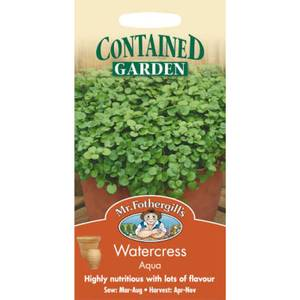 Watercress Aqua (Nasturtium Officinale) Seeds