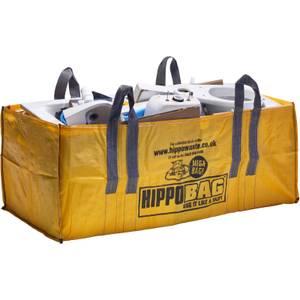 HIPPO MEGABAG 1.5 cubic yard 180cm x 90cm x 70cm