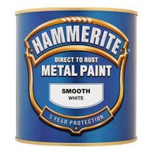 Hammerite Red - Exterior Smooth Metal Paint - 250ml