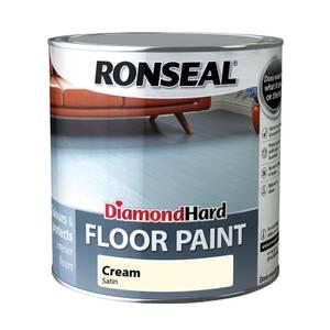 Ronseal Diamond Hard Cream - Floor Paint - 750ml