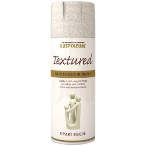 Rust-Oleum Textured Spray Paint - Desert Bisque - 400ml