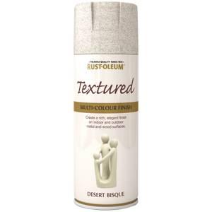 Rust-Oleum Textured Spray Paint - Desert Bisque - 400ml