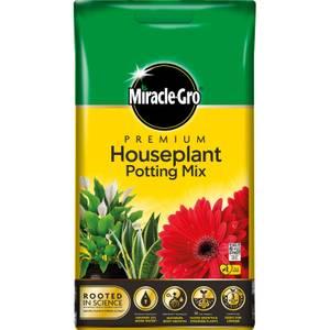 Miracle-Gro Premium Houseplant Potting Mix Compost - 10L