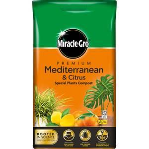 Miracle-Gro Premium Mediterranean and Citrus Compost - 6L