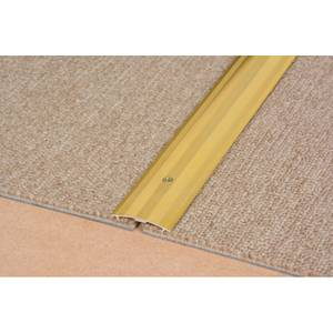 Cover Strip Carpet Edge - Gold 900mm