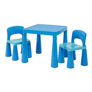 Classic Blue Table and 2 Chairs